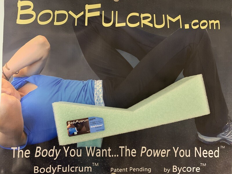2-inch BodyFulcrum® Comfort Green taller height for adjustable/comfortable deep Muscle Massage for Glute Medius, Piriformis, IT Band, Core exercises, and Back Stretch Height. Free Shipping Ground