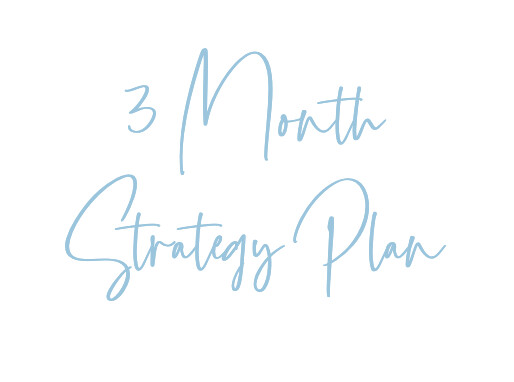 3 Month Strategy Plan