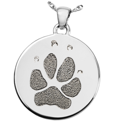 Circle with Paw or Nose Print