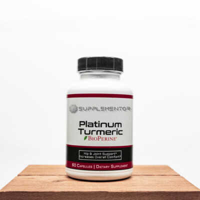 Platinum Turmeric w BioPerine Supplement
