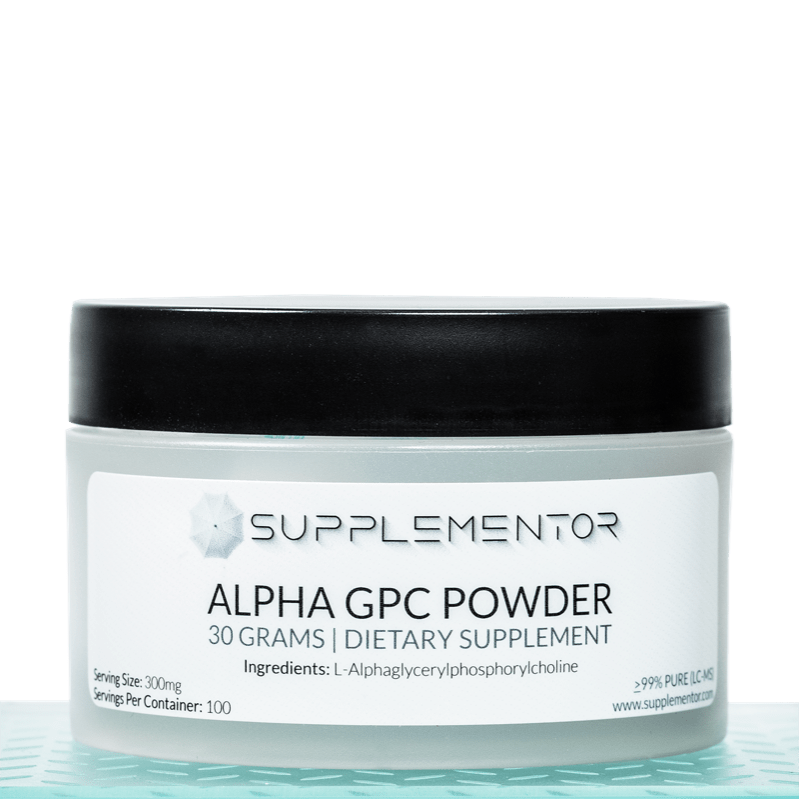 Alpha-GPC Powder Bioceutical Supplement 30 Grams