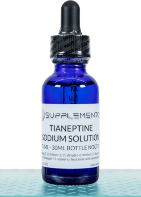 Tianeptine Sodium Solution - 50MG/ML - 30ML Bottle Nootropic