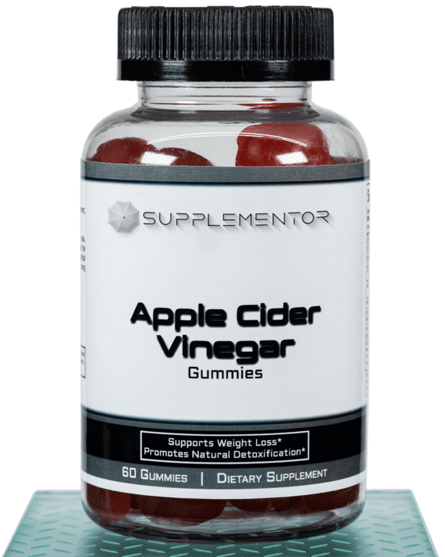 Apple Cider Vinegar 60 Count Gummies Supplement