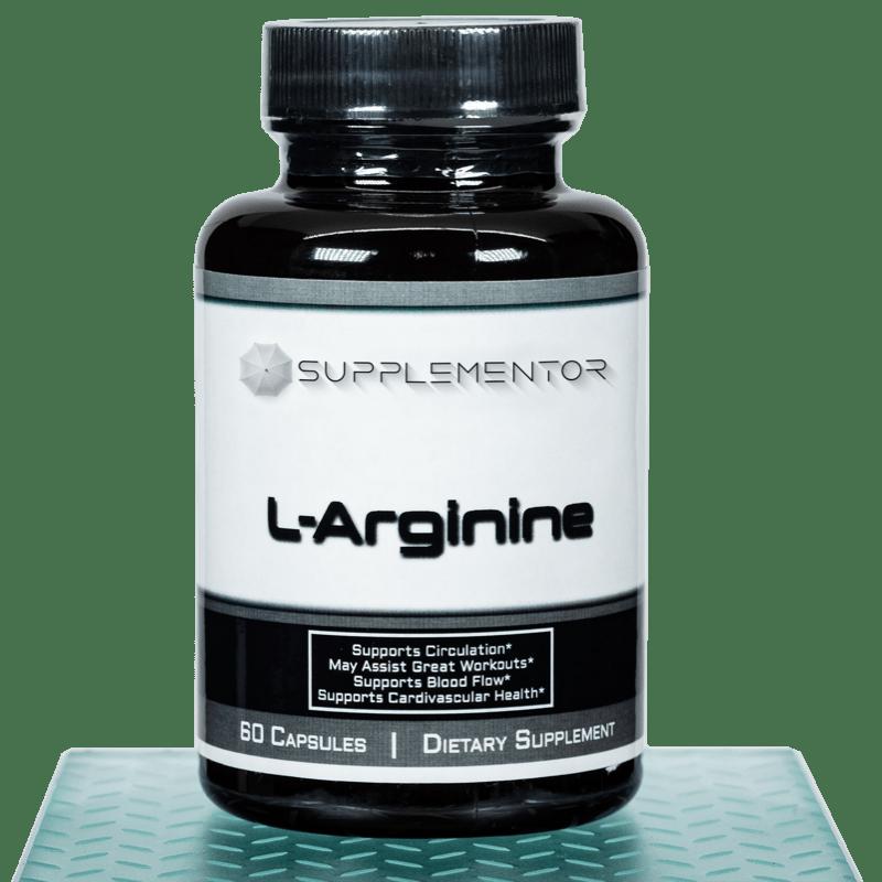 L-Arginine 60 Count Capsules Supplement