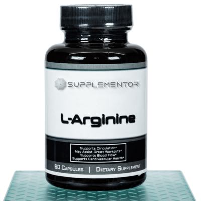 L-Arginine 60 Count Capsules Supplement