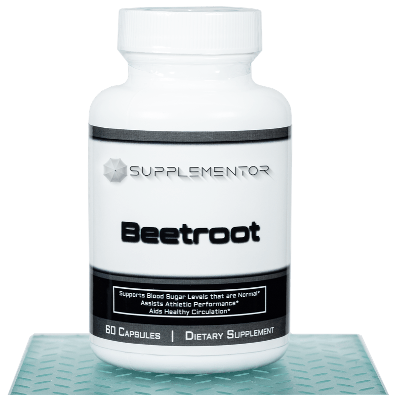 Beetroot 60 Count Capsules Supplement