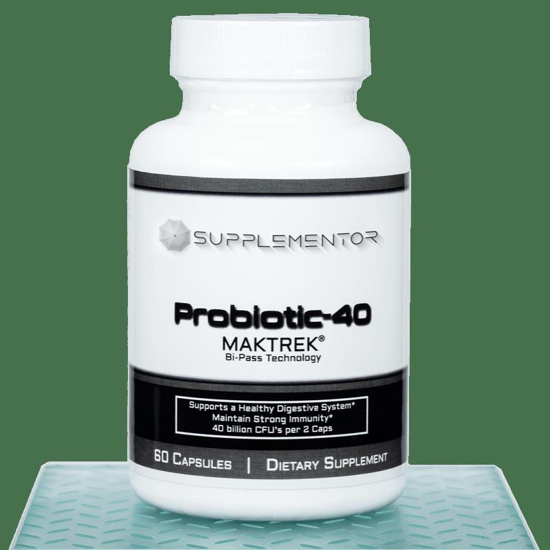 Probiotic 40 w Maktrek 60 Count Capsules Supplement