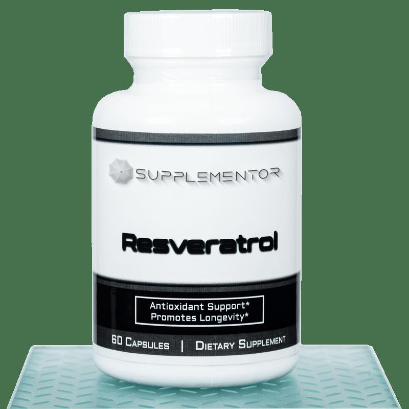 Resveratrol 60 Count Capsules Supplement