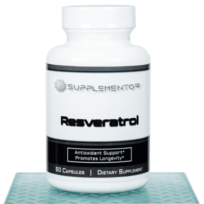 Resveratrol 60 Count Capsules Supplement