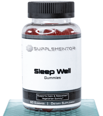 Sleep Well 60 Count Gummies Supplement