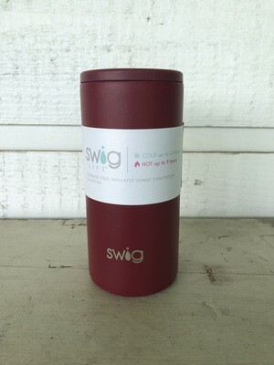 Matte Maroon - Skinny Can