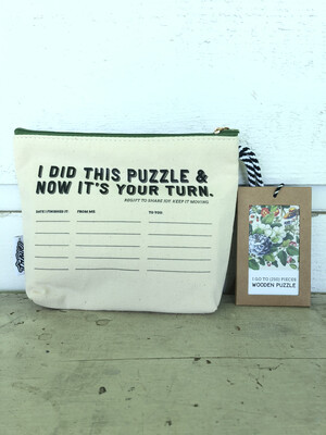 Vintage Botanicals Pass-It-On Pouch