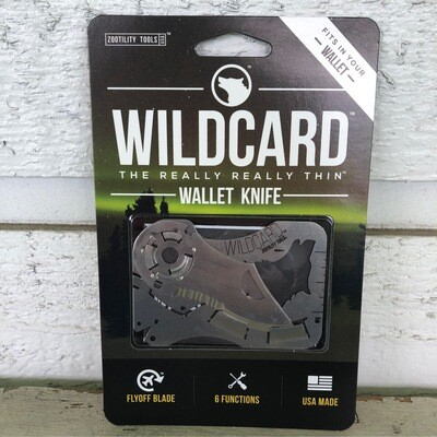 Wild Card Wallet Knife