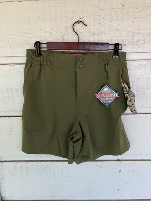 Athletic Shorts - Olive Green