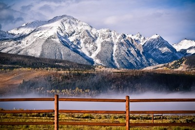 101 - Gore Mountain Range Print