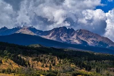 106 - Red Mountain Peak Print