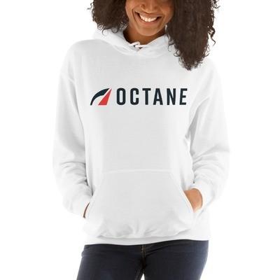 Octane Logo Hoodie White