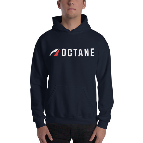 Octane Logo Hoodie Navy