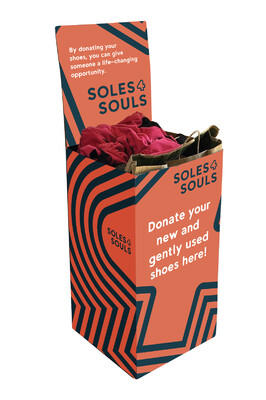 Shoe Drive Collection Box