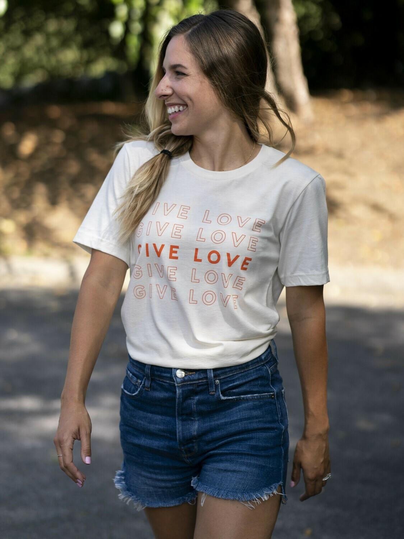 Give Love Tee (Natural)