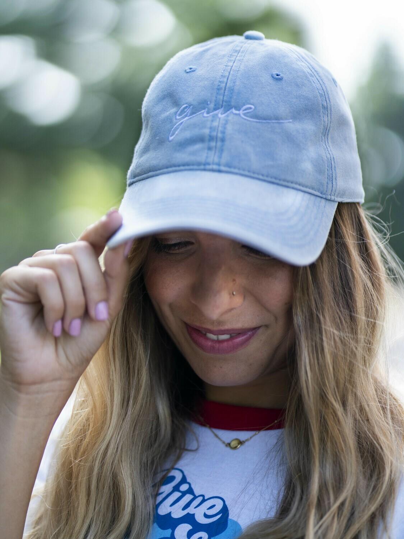 Denim Give Hat
