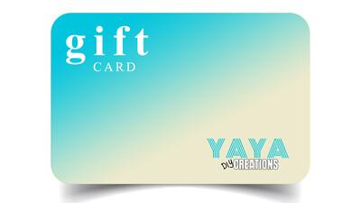 YAYA DIY CREATIONS Gift Card