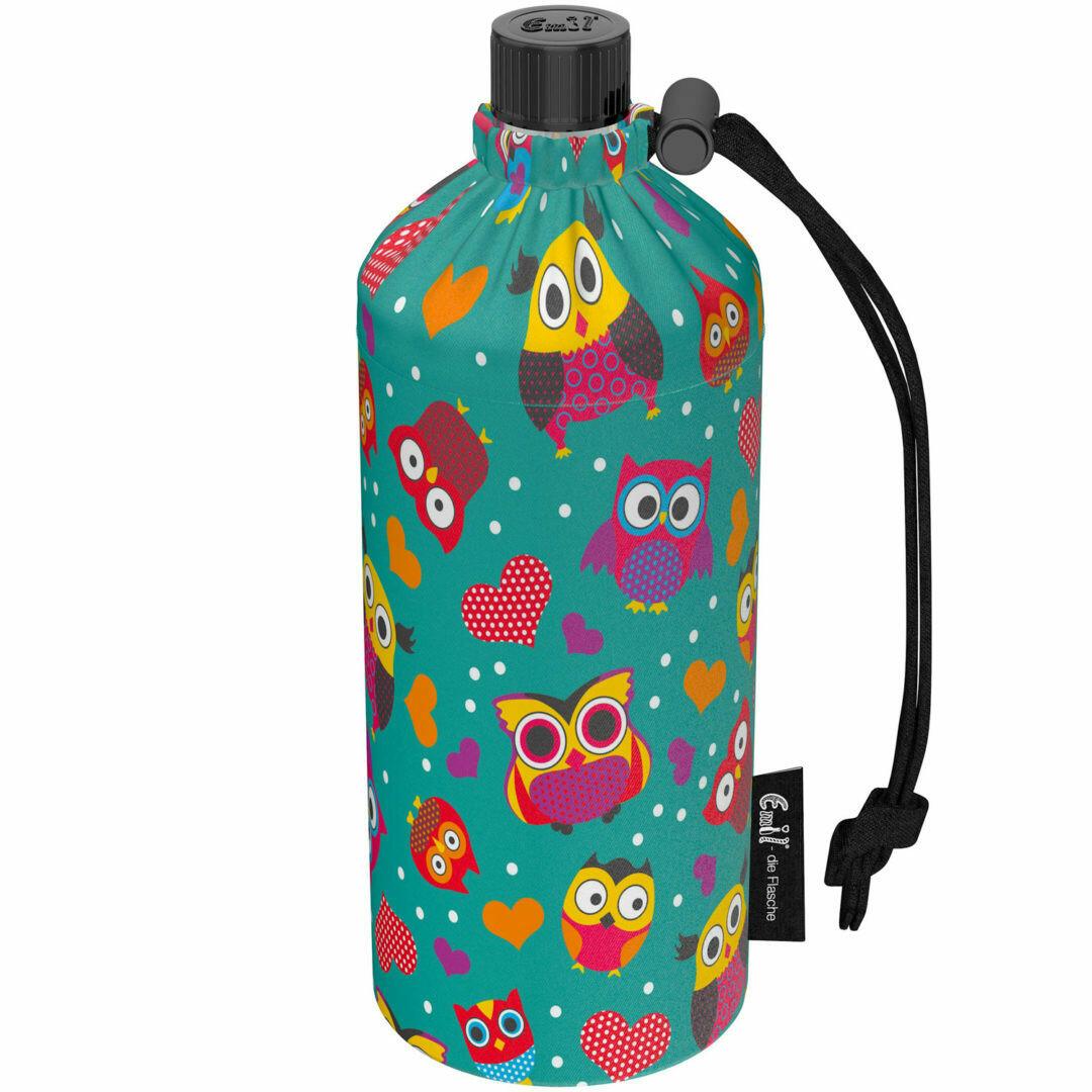 """0.4 Liter Flasche normale Öffnung """"Eule"""""""
