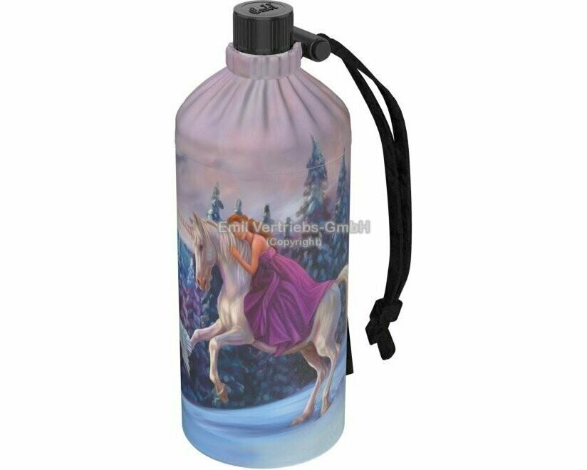 """0.4 Liter Flasche normale Öffnung """"Eisprinzessin"""""""