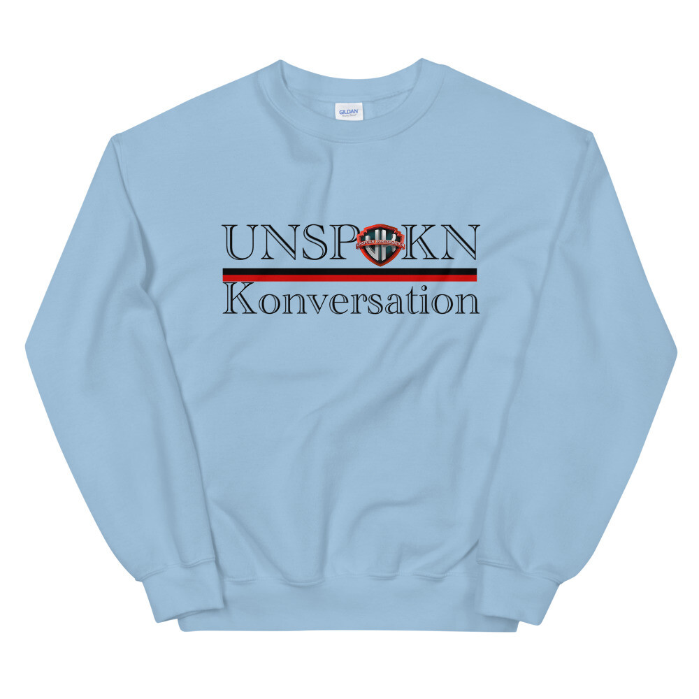 Unspokn Konversation  Winter Unisex Sweatshirt