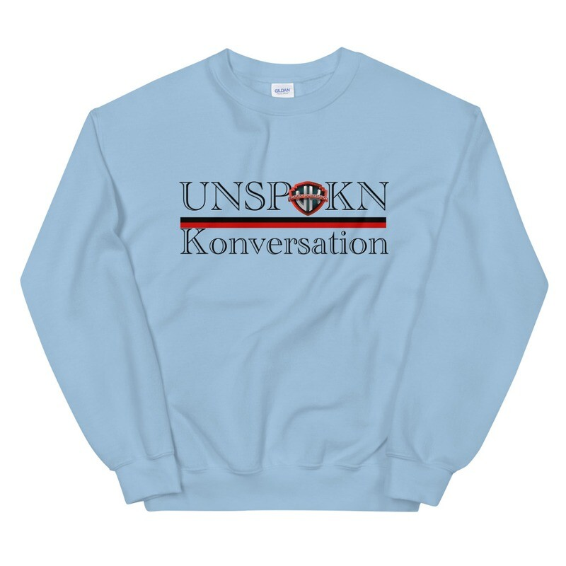 Unspokn Konversation  Winter Unisex Sweatshirt
