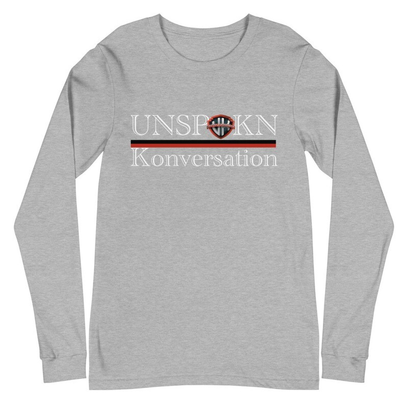 Unspokn Konversation Unisex Long Sleeve Tee