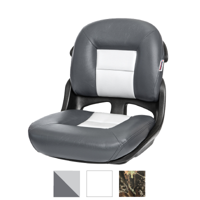 Fisherman's Armless Low-Back Helm Seat