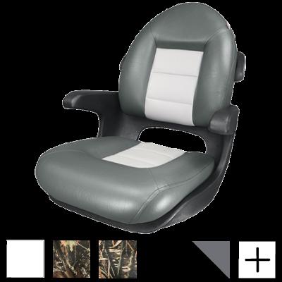 Elite Helm High-Back Boat Seat