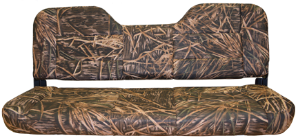 "48"" Folding Bench Seat Camo - Mossy Shadow Grass Vinyl"