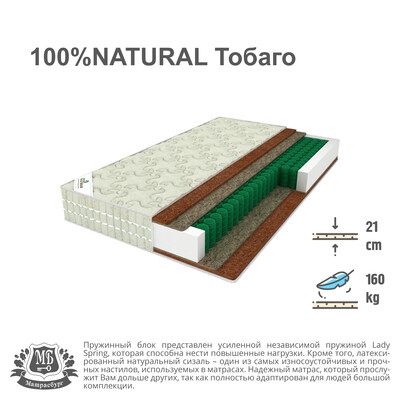 100% Natural Тобаго
