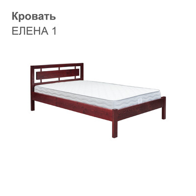 Кровать ЕЛЕНА 1 (с одной спинкой)