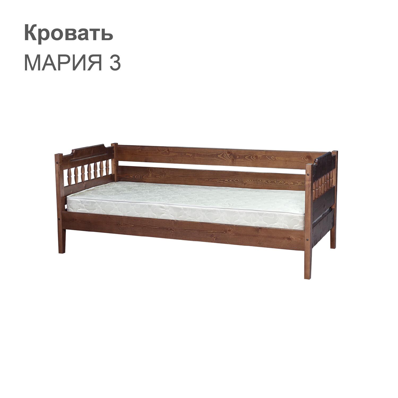 Кровать МАРИЯ 3 (с тремя спинками)
