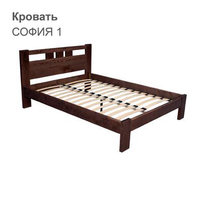 Кровать СОФИЯ 1 (с одной спинкой)
