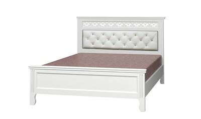 """Кровать """"Грация"""" античный белый (с ящиками)"""