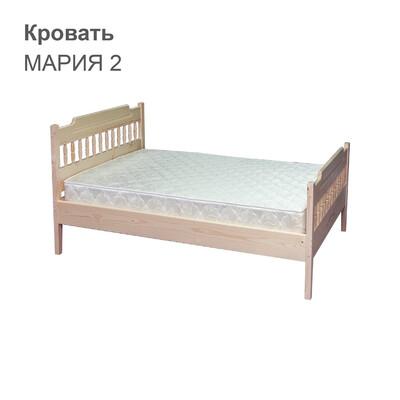 Кровать МАРИЯ 2 (с двумя спинками)