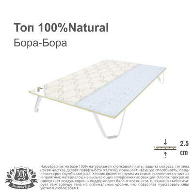 Топ 100%Natural Бора - Бора
