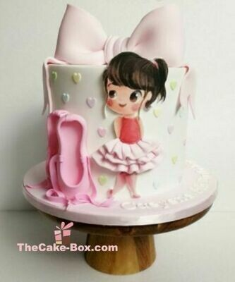 Little Ballerina Themed Cake