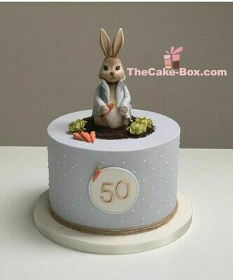 Mr. Bunny Themed Cake