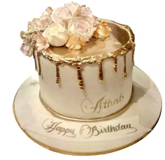 Delightful Roses Cake