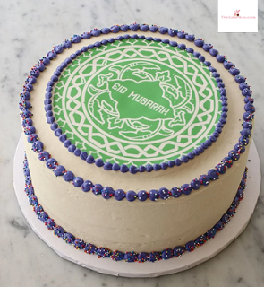 Eid Mubarak Cake by The Cake Box