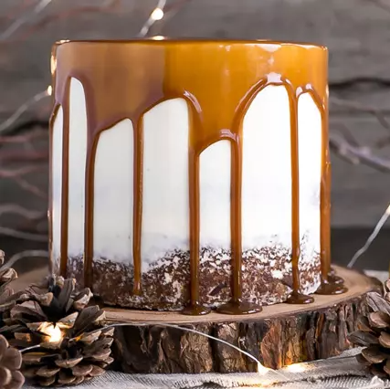 Delectable Dates Cake