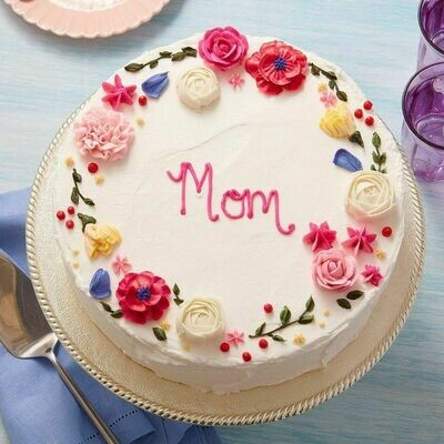 Brightly Colored Mothers' Day Cake - Ask for Price