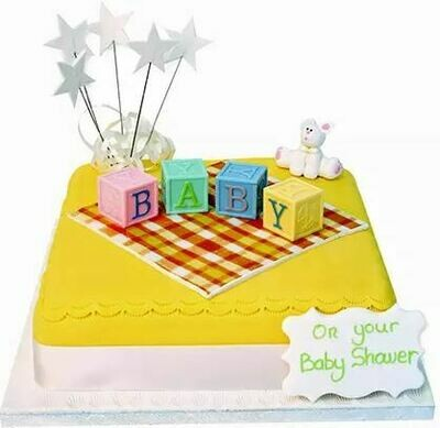 Baby Blocks Cake - Ask for Price