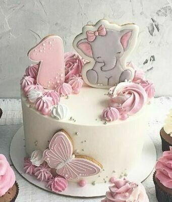 Adorable Baby Shower Cake - Ask for Price