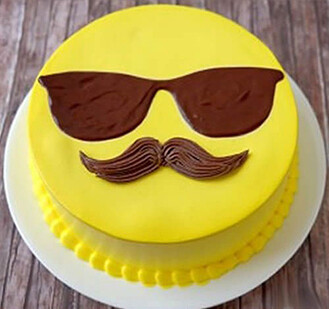 Emoji Dad Cake